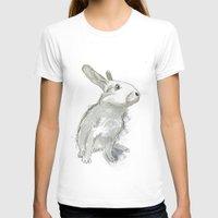 rabbit T-shirts featuring Rabbit by Melissa McGill