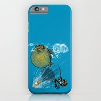 pufferfish baloon iPhone 6 Slim Case