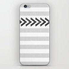 ARROW STRIPE {GRAY} iPhone & iPod Skin