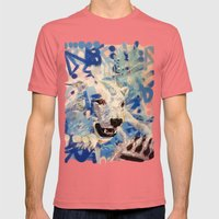 Polar Bear Mens Fitted Tee Pomegranate SMALL