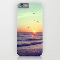 iPhone & iPod Case featuring Siesta Key Sunset by CAPow!