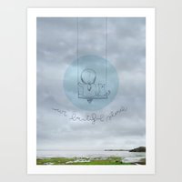 Our Beautiful Silence. Art Print