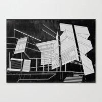 Masking Winter  Canvas Print