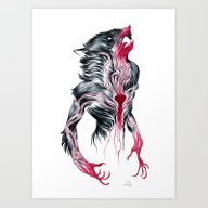 Art Print featuring Bled by Natalie Hall