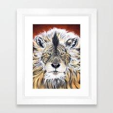 uy Framed Art Print