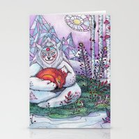 Fox Spirit Stationery Cards
