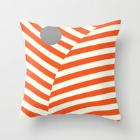 Love and Collision Throw Pillow
