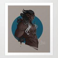 Xaman Art Print
