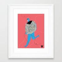 Hilos Framed Art Print