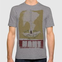 Mame Mens Fitted Tee Athletic Grey SMALL