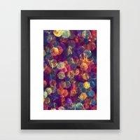 Kaleidoscope Rainbow Framed Art Print