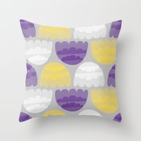 Jelly-fish Throw Pillow