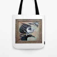 Raven Witch Tote Bag