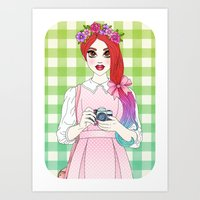 Pretty as a Picture Art Print