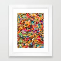 Mixed Seeds and Spices   Framed Art Print