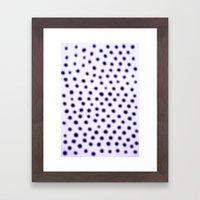 Dots Of Focus Framed Art Print
