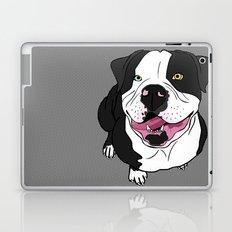 Bubba, the American Bulldog Laptop & iPad Skin