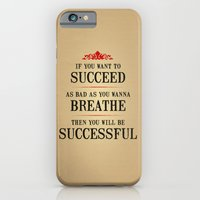 How bad do you want to be successful - Motivational poster iPhone 6 Slim Case
