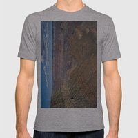 The Grand Canyon Dry Color Mens Fitted Tee Athletic Grey SMALL