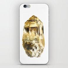 Raw Topaz iPhone & iPod Skin