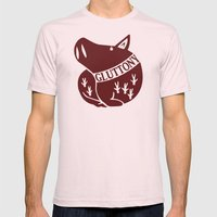 The Boar's Sin of Gluttony Mens Fitted Tee Light Pink SMALL