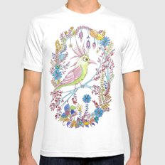 exotic bird SMALL White Mens Fitted Tee