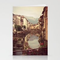 Moody Canal Stationery Cards