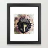 Show Another Side Framed Art Print