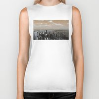 Between Two Worlds Biker Tank