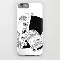 Camera Drawing iPhone 6 Slim Case