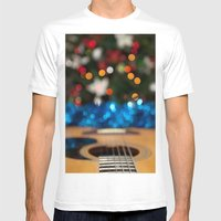 A Sweet Song Mens Fitted Tee White SMALL