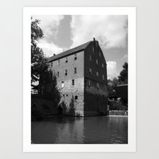 bollinger mill 3 Art Print