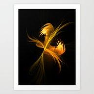 Play Of Light 3 Art Print