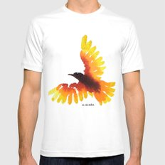 Hope bird. Mens Fitted Tee SMALL White