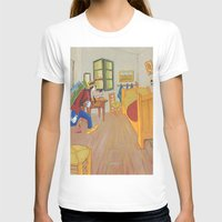 Goofy As Vincent Womens Fitted Tee White SMALL