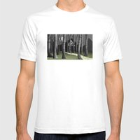 The Forest Mens Fitted Tee White SMALL