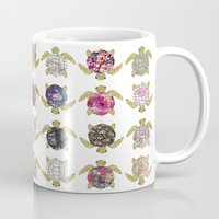 Whimsical Turtles With G… Mug
