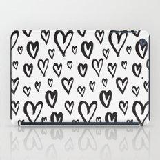 Inky Dinky Hearts iPad Case