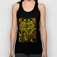 Rise Against band poster for appearance at record store Unisex Tank Top