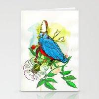 Bad Bad Birdy Stationery Cards