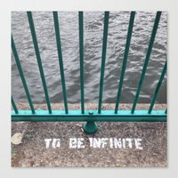 To Be Infinite Canvas Print