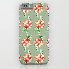 Fleur/ flowers iPhone 6s Slim Case