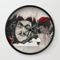 Rufio Wall Clock
