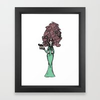An Immediate Problem Framed Art Print