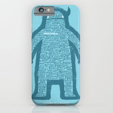 Anatomy of a Monster iPhone 6 Slim Case