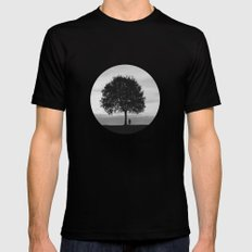 Hide and seek Mens Fitted Tee Black SMALL