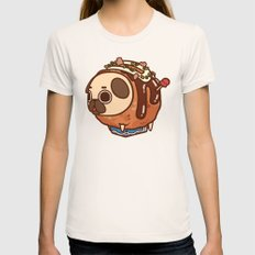 Puglie Takoyaki Womens Fitted Tee Natural SMALL