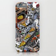 Pizza Machine iPhone 6 Slim Case