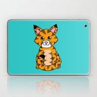 Little Ginger Tabby Laptop & iPad Skin