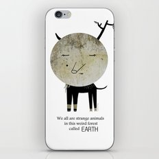 Strange Animal iPhone & iPod Skin
